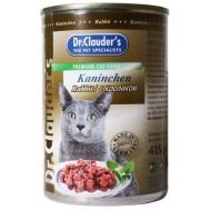Доктор Клаудер д/кошек конс. с Кроликом 415гр