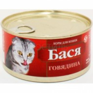 "Бася 325гр ""Говядина профилактика"" банка ключ 1/30"