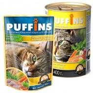 Puffins picnic 85гр желе Курица д/кошек 1/26