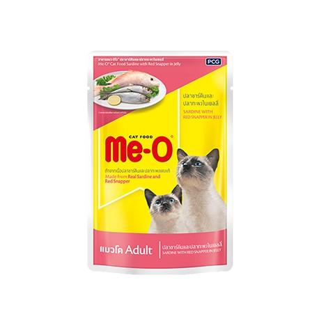 Мя-о конс 80 гр д/кошек сардина, красный окунь в желе пауч 1/48 (4)