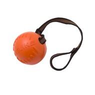 Мяч  с лентой малый (оранжевый) Doglike