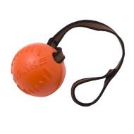 Мяч  с лентой средний (оранжевый) Doglike