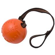 Мяч  с лентой большой (коралловый) Doglike