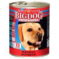 BIG DOG Мясное ассорти 850 гр ж/б