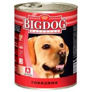 BIG DOG Говядина 850 гр ж/б 1/9
