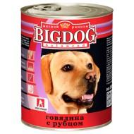 BIG DOG Говядина с рубцом 850 гр ж/б