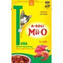 A-Soli Mii-o д/кошек Тунец в креветочном соусе 80гр пауч