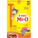 A-Soli Mii-o д/кошек Тунец с анчоусом в сырном соусе в желе 80гр пауч