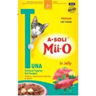 A-Soli Mii-o д/кошек Красное мясо тунца с красным окунем в желе 80гр пауч