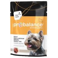 Пробаланс д/собак малых и средних пород пауч 100гр 1*25