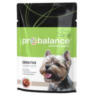 Пробаланс д/собак с чувствительным пищеварением пауч 100гр 1*25