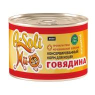 A-Soli Mii-o д/кошек ж/б 325гр Говядина профилактика МКБ 1*30