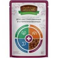 Для кастр. и стерилиз. с говядиной пауч 85гр Деревенские лакомства (70063088)