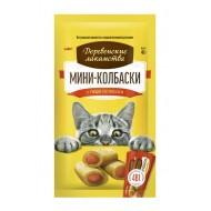 ДЛ Мини-колбаски для кошек с пюре из лосося, 4*10г (арт. 72504154)