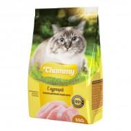 Chammy для кошек сухой корм с Курицей 10кг