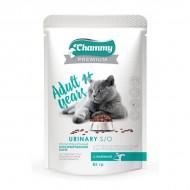 Chammy Premium д/кошек стерилизованных с телятиной 85гр пауч
