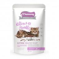 Chammy Premium д/котят цыпленок и телятина в соусе 85гр пауч
