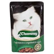 Chammy д/кошек с кроликом и индейкой в соусе 85гр пауч