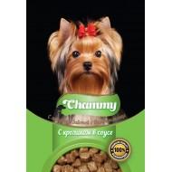 Chammy д/собак с кроликом в соусе 85гр пауч