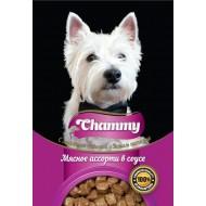 Chammy д/собак мясное ассорти в соусе 85гр пауч