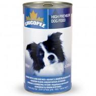 Chicopee Dog Ягненок с рисом  консервы 400гр