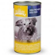 Chicopee Dog Курица,  индейка консервы 1,230 кг