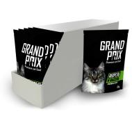 GRAND PRIX д/кошек в соусе Форель и фасоль пауч 85гр 1*24
