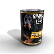 GRAND PRIX конс. д/собак в соусе Кролик с морковью 400 г