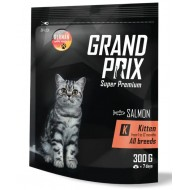 GRAND PRIX  Kitten д/котят с лососем 0.3 кг