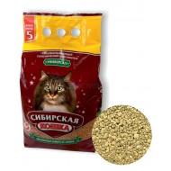 Сибирская кошка напол. Универсал (впитыв) 5 л 1/4шт