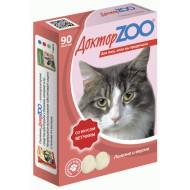 Доктор ZOO для кошек со вкусом ветчины 90 т