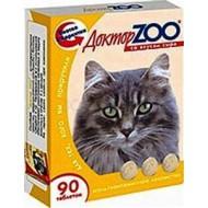 Доктор ZOO для кошек со вкусом сыра 90 т 6шт/уп