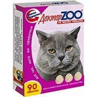 Доктор ZOO для кошек со вкусом говядины 90 т 6шт/уп
