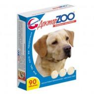 Доктор ZOO для собак морские водоросли 90 т 6 шт/уп