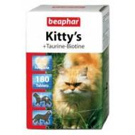 Беафар д/кошек Kitty`s сердечки Таурин + биотин 75 таб