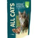 All Cats д/к с курицей в соусе пауч 85гр 1/25