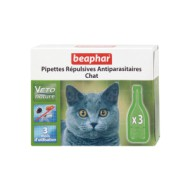 Беафар БИО капли на холку д/кошек 1/3 пипетки