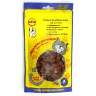 A-Soli д/кошек мини колбаски из утки 50гр