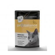 ProBalance ImmunoProtection д/кошек с говядиной  пауч 85гр 1/25