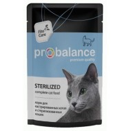 ProBalance Sterilized д/стерилизованных кошек пауч 85гр 1/25
