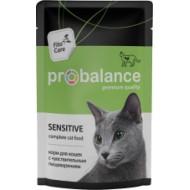 ProBalance Sensitive чувствительное пищеварение д/кошек пауч 85гр 1/25