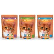 Прохвост консервы 100гр д/кошек  говядина соус пауч 25шт/упак