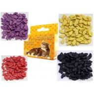 Антицарапки Ф2 колпачки д/кошек на когти, фиолетовые 40шт