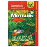 """Корм для рыб ВАКА """"Мотыль"""" натуральный, сухой корм 40 мл"""