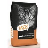 Тasty д/кошек с говядиной 10кг